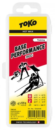 BASE PERFORMANCE Wachs red