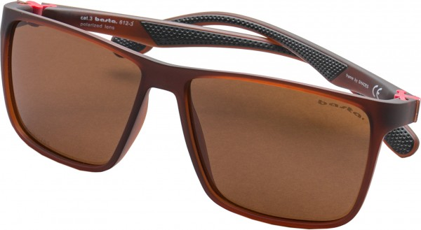 SERPI Sonnenbrille transparent brown/polarized
