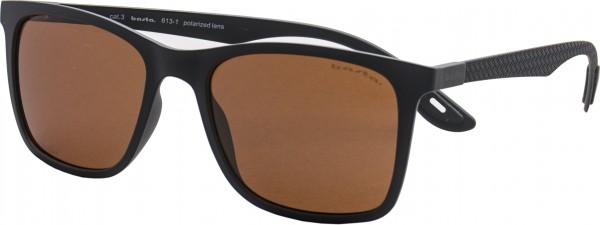 GIOIA Sonnenbrille black/polarized brown