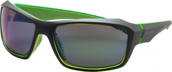 YANNICO Sonnenbrille black green/polarized