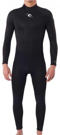 FREELITE 3/2 BACK ZIP Full Suit HW 2022 black