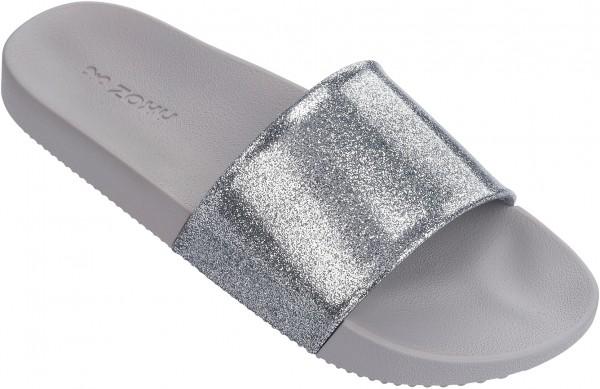 SNAP GLITTER SLIDE Sandale 2018 glitter silver