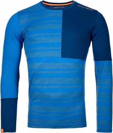 185 ROCK N WOOL Longsleeve 2022 just blue