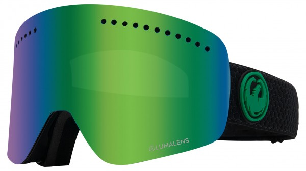 NFX Schneebrille 2020 split/lumalens green ionized + lumalens amber