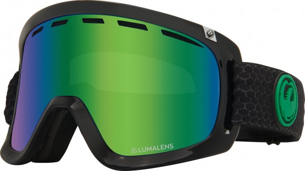 D1 OTG Goggle 2020 split/lumalens green ionized + lumalens amber