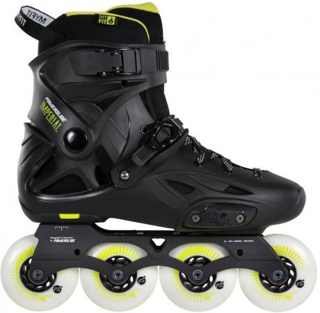 IMPERIAL ONE 80 Inline Skate 2021 black/yellow