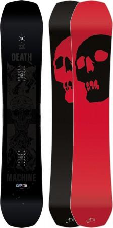 BLACK SNOWBOARD OF DEATH Snowboard 2021