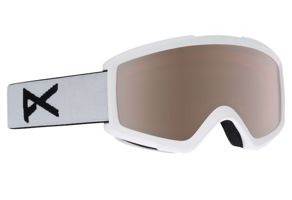 HELIX 2.0 SPARE Schneebrille 2020 white/silver amber