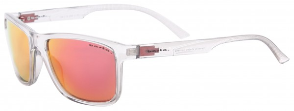 KEYLESS Sonnenbrille clear/red mirror