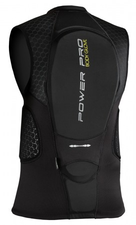 POWER PRO Backprotector 2020 black/yellow