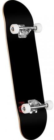 CHEVRON DETONATOR Skateboard solid black