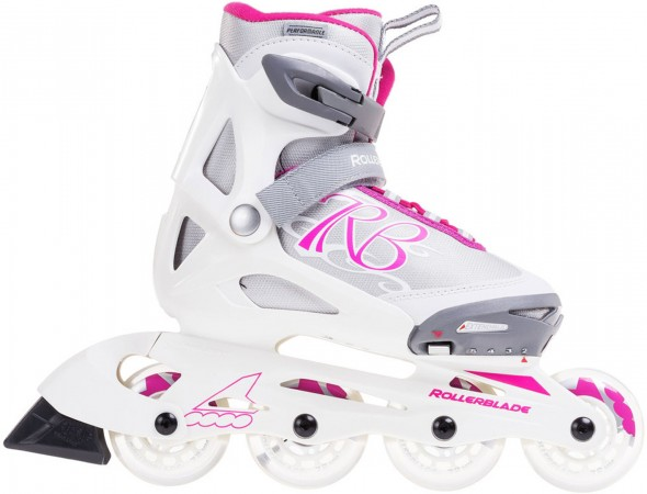 COMET G Inline Skate white/pink
