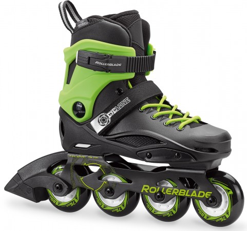 CYCLONE Inline Skate 2018 black/acid green