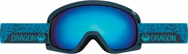 D3 OTG Schneebrille 2018 stone blue/dark smoke blue ionized
