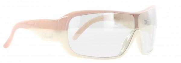 DOMINO Sonnenbrille pink white/transparent mirror