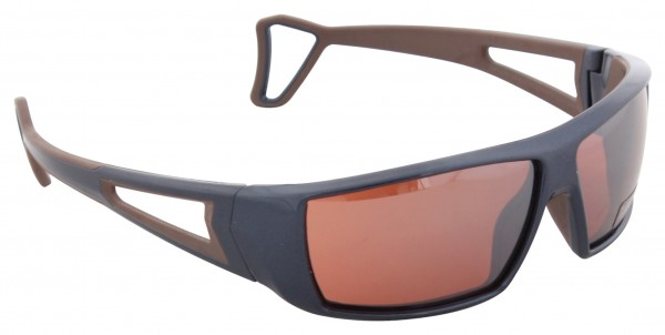EDGE Sunglasses blue/brown