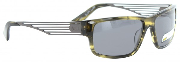 EDITOR Sonnenbrille havana green dark ruthenium/grey polarized