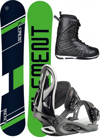 ELEMENT WIDE 157W 2019 inkl. STYLE black + PURE PRO Boot black