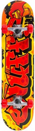 GRAFFITI II Skateboard 2021 red