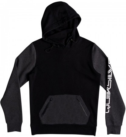 BIG LOGO TECH Hoodie 2019 black