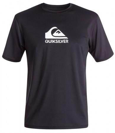 SOLID STREAK Surf Shirt Lycra 2019 black