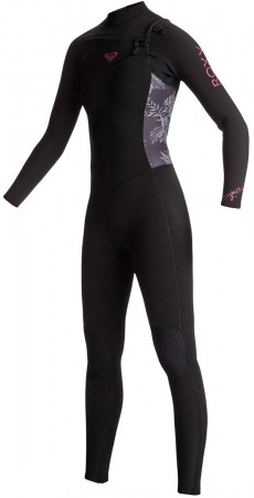 SYNCRO 4/3 GBS CHEST ZIP Full Suit 2018 black