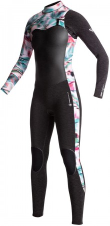 PERFORMANCE 4/3 CHEST ZIP Full Suit 2018 black