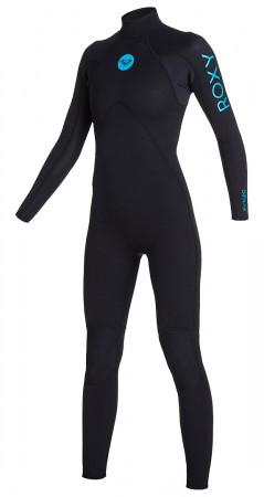 3/2 BASIC BACK ZIP Full Suit 2020 black