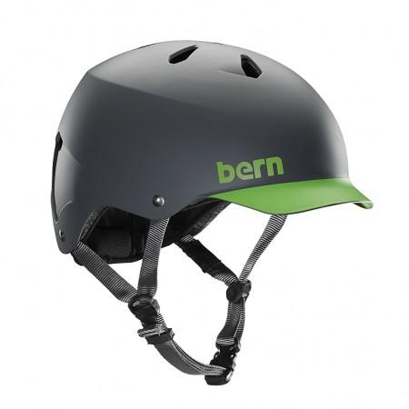 WATTS H2O Helm 2019 matte grey/green brim