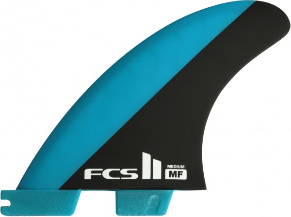 II MF PC THRUSTER Finnen Set 2019 blue/black