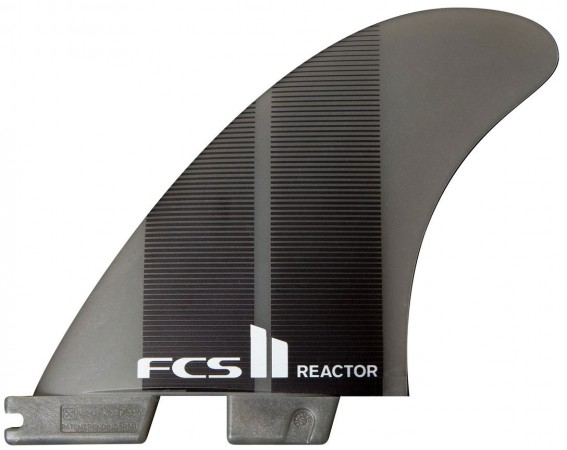 II REACTOR NEO GLASS THRUSTER Fin Set 2020 charcoal