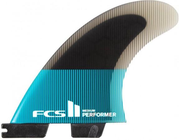 II PERFORMER PC TRI Finnen Set 2021 teal/black