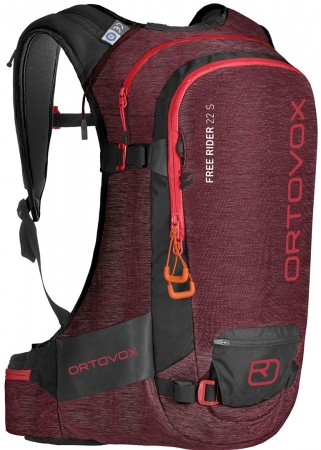 FREE RIDER 22 S Backpack 2020 dark blood blend