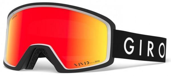 BLOK Goggle 2020 black/white core/vivid ember