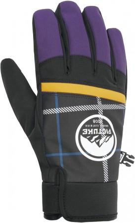 HUDSONS Handschuh 2021 purple