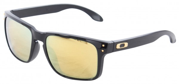 HOLBROOK Sonnenbrille polished black/24k iridium