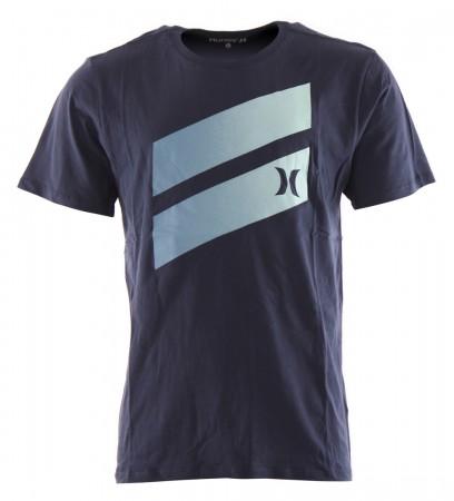 ICON SLASH GRADIENT T-Shirt 2020 obsidian/light armory blue