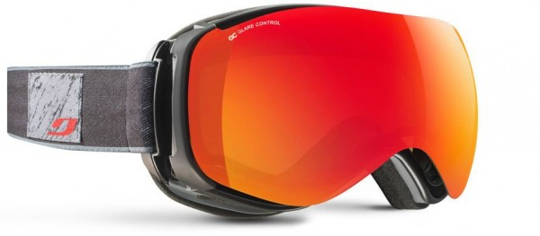 VENTILATE Schneebrille 2019 black/grey/glare control