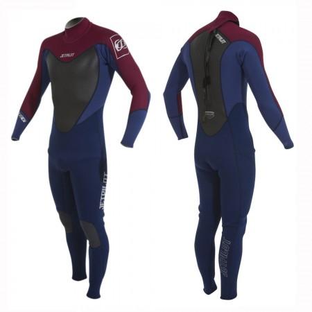 THE CAUSE 3/2 Full Suit dark/navy/burgundy
