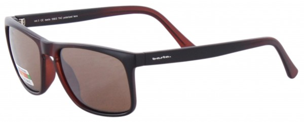 KEY POLARIZED Sonnenbrille brown/silver