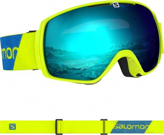 XT ONE Schneebrille 2020 neon yellow/solar blue