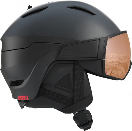 DRIVER S Helm 2020 red black/red