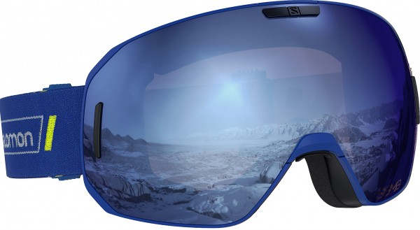 S/MAX SIGMA Schneebrille 2021 race blu/sky blue universal