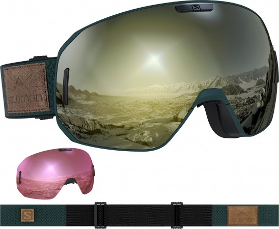 S/MAX SIGMA Goggle 2020 green ga/sol bk gold