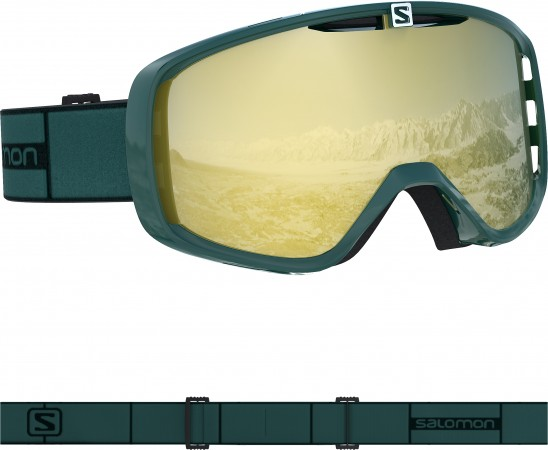 AKSIUM Goggle 2020 green gable/sol bronze