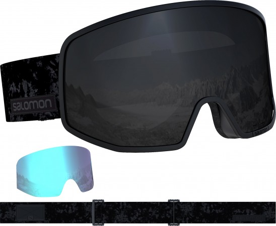 LO FI BLACK Google 2020 tie-dye/sol black