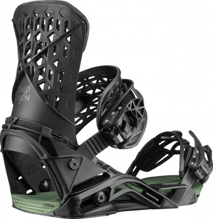 HIGHLANDER Binding 2020 black/oil green