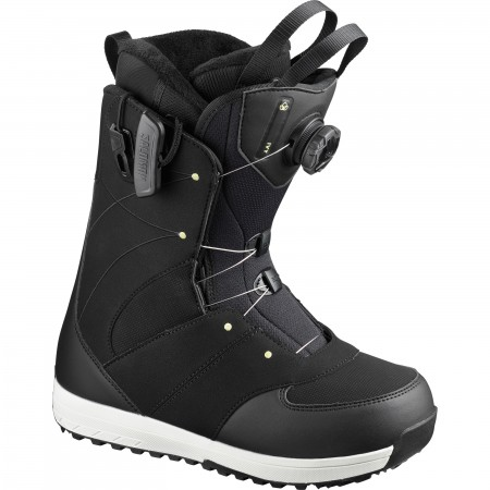 IVY BOA SJ Boot 2020 black/black/pale lime