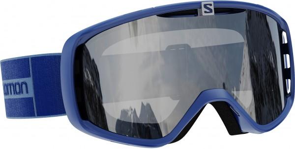 AKSIUM ACCESS Schneebrille 2021 navy/silver mirror universal