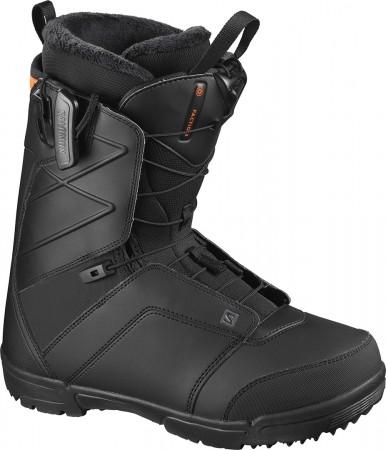 FACTION Boot 2021 black/black/red orange